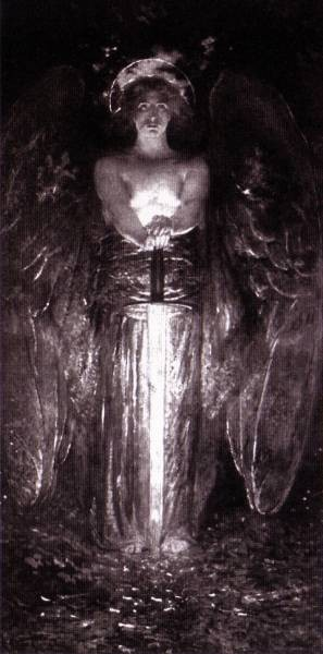 The Angel with The Flaming Sword 1893